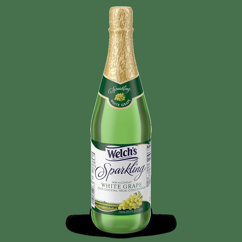 Sparkling White Grape Juice Cocktail