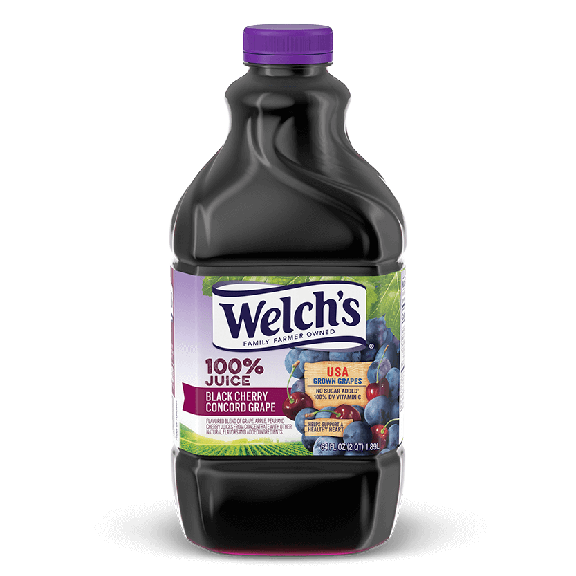 100% Juice Black Cherry Concord Grape
