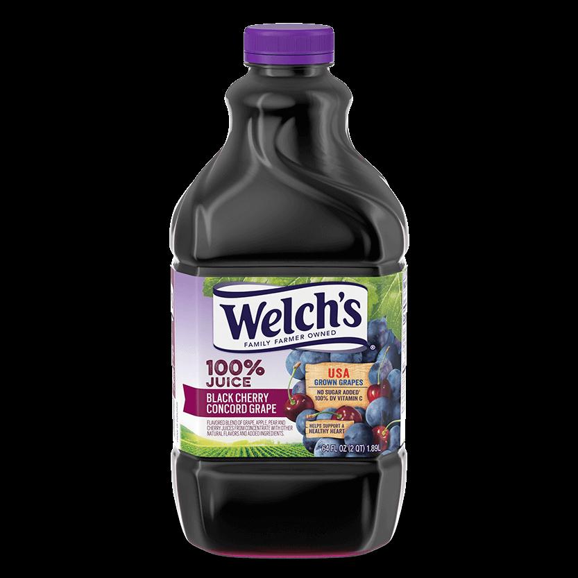 100% Juice Black Cherry Concord Grape