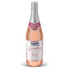 Sparkling Rosé Grape Juice Cocktail