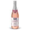 Sparkling Rosé Grape Juice Cocktail
