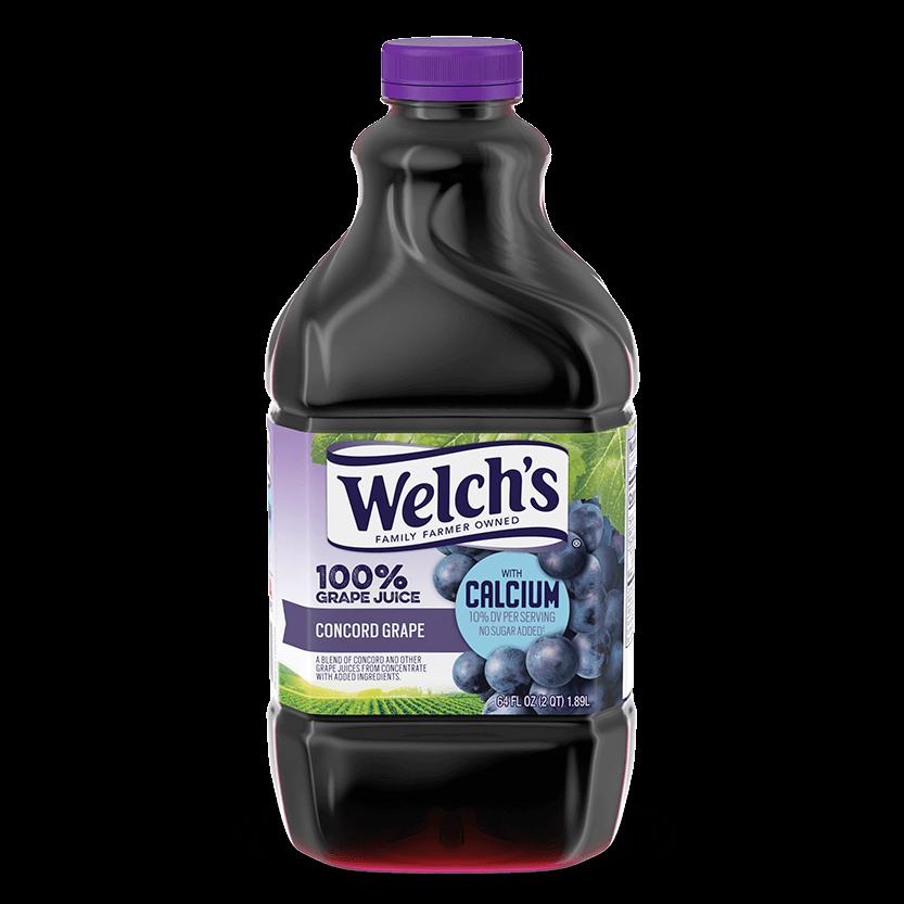 100% Grape Juice Concord Grape with Calcium