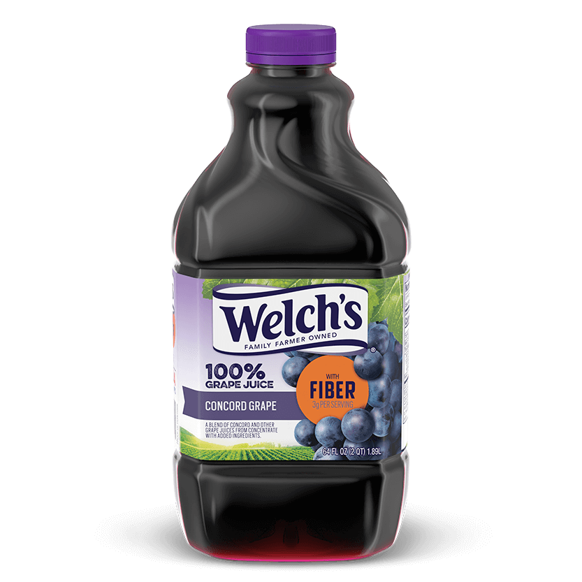 100% Grape Juice Concord Grape with Fiber