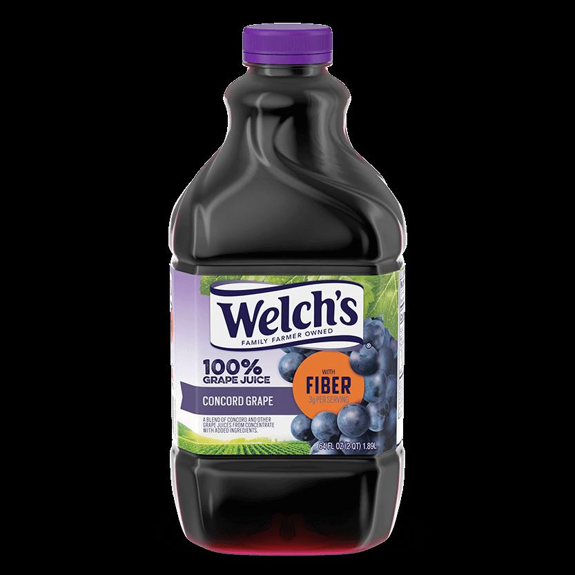 100% Grape Juice Concord Grape with Fiber