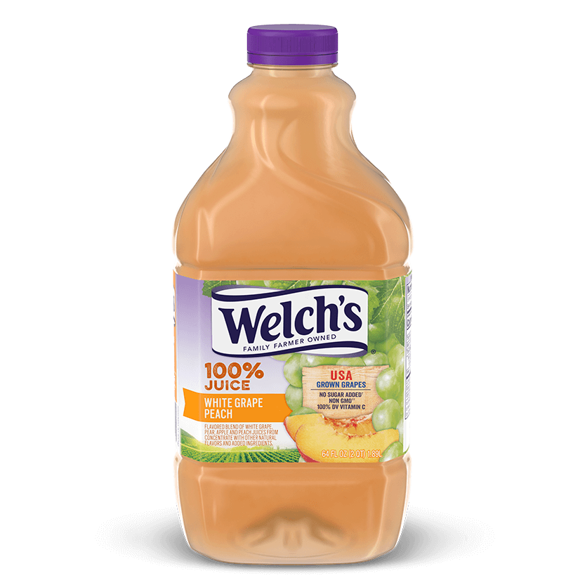 100% Juice White Grape Peach