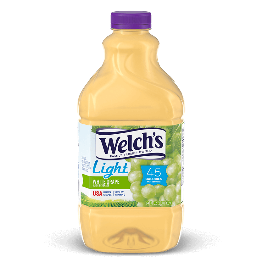 Light White Grape Juice Beverage